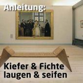 Anleitung: Kiefer und Fichte. Laugen und seifen.